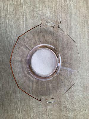 Vintage pink glass bowl. for Sale in Barboursville, VA