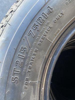 ST215/75/14 Trailer (4 Tires) $80.00/ All 4 for Sale in Lake Forest, CA