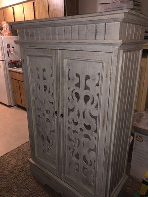 White Dresser/armoire farmhouse style for Sale in Oklahoma City, OK