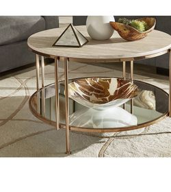 Champagne Gold Coffee Table for Sale in Queens,  NY