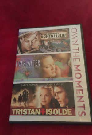 3 movie combo for Sale in Mebane, NC