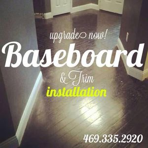 Trim, baseboards, doors, cabinet, custom closets and more for Sale in Grand Prairie, TX