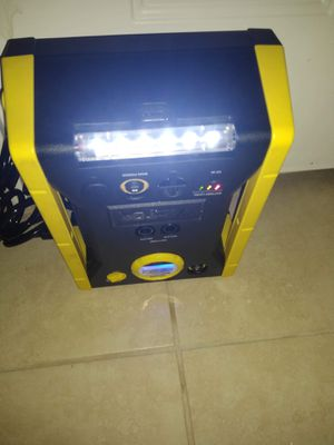 Victor air compressor rechargeable for Sale in Houston, TX