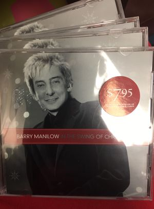 Barry Manilow In the Swing Of Christmas CD for Sale in China, TX