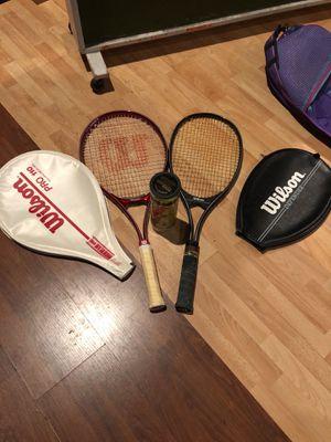 Wilson Tennis Rackets for Sale in Oakland, CA