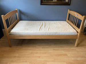 Twin Bed Frame -I CAN DELIVER - Real wood for Sale in Upper Darby, PA