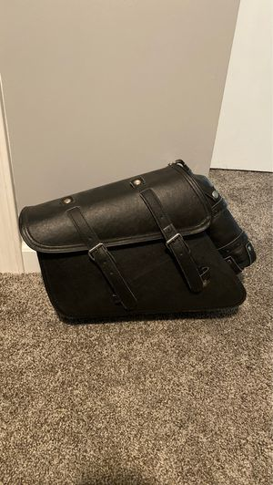 Brand new low profile saddle bag for motorcycle. Never used for Sale in Clio, MI