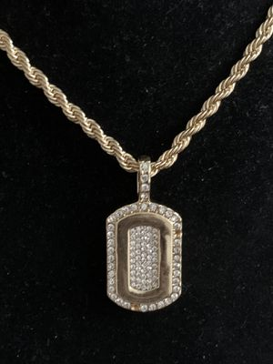 Iced-Out Pendant Charm (Please Read Description) for Sale in Seattle, WA