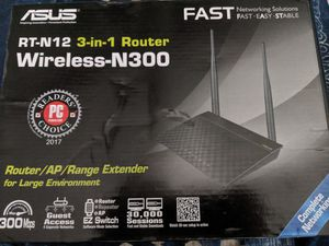 Asus Router 3 in 1 for Sale in Whittier, CA
