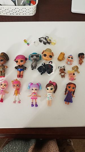 LOL Dolls and Shopkin Dolls for Sale in Sacramento, CA