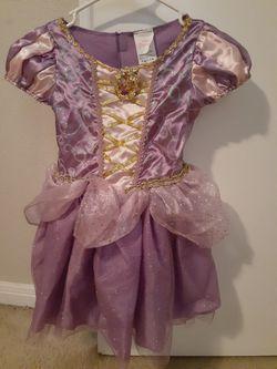 Halloween Disney Rapunzel Princess Costume and Wig for Sale in Herndon,  VA