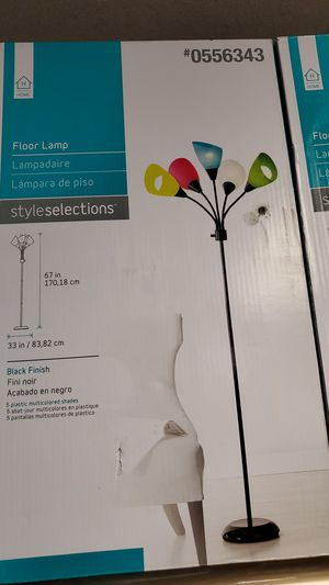 Floor lamp new 25.00ea for Sale in Bakersfield, CA