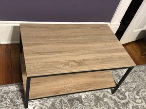 Oak wood center coffee table for Sale in Washington, DC
