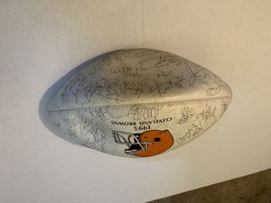 Browns 1995 Signed Authentic football for Sale in Brook Park, OH