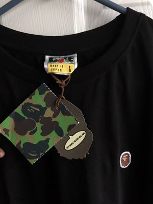 Bape embroidered Black t-shirt for Sale in Sugar Land, TX