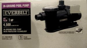 In ground pool pump for Sale in Frostproof, FL
