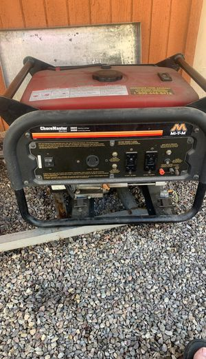 Generator from Grainger look at pictures for model for Sale in Santee, CA