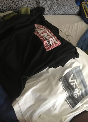 Vans shirts worn one time for Sale in Orlando, FL