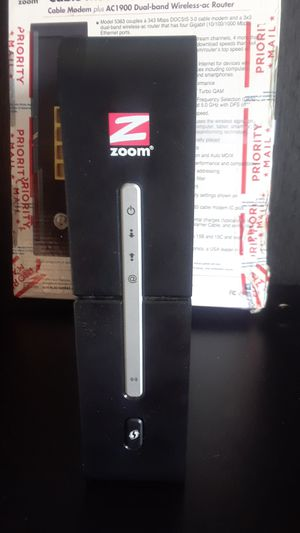 Zoom Cable Modem/Router for Sale in Kansas City, MO