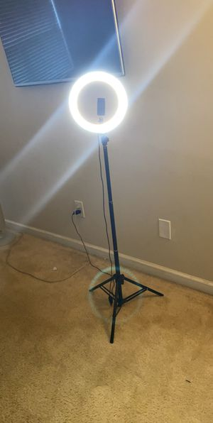 """Led ring stand 8"""" for Sale in Marietta, GA"""