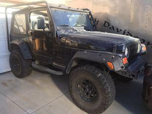 2001 Jeep Wrangler I6 AUTO 147 k for Sale in Hemet, CA