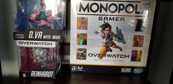 Dragonball and overwatch figure