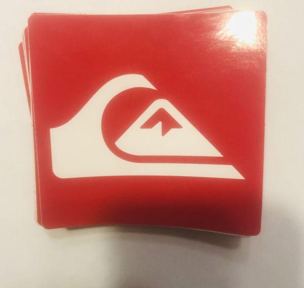 Surfboard Skateboard Quiksilver Sticker Decals/Patches