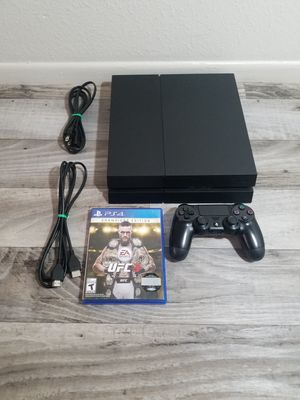 🚩 Ps4 Playstation 4 Black Matte Affordable Package 🚩 for Sale in Tempe, AZ
