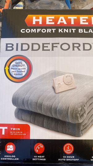 Electric blanket Heated blanket NEW for Sale in Windsor Hills, CA
