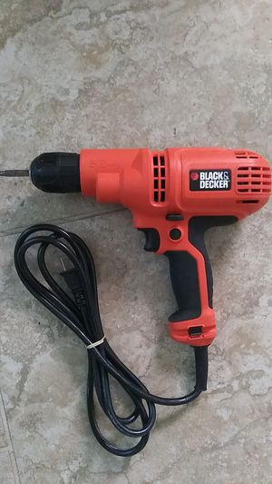 Black & Decker 5.2amp corded drill for Sale in Austin, TX
