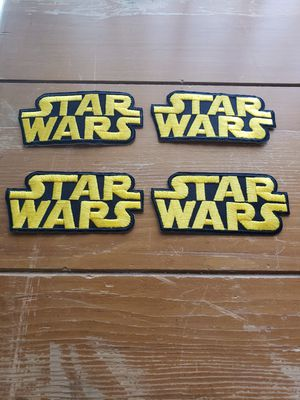 Star Wars 4 patch lot new for Sale in Los Angeles, CA