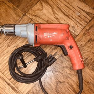 Milwaukee Magnum 8 Amp 1/2-Inch Drill (Corded) for Sale in Buena Park, CA