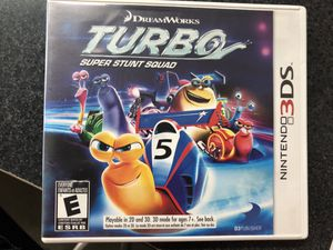 Turbo Super Stunt Squad for Nintendo 3Ds for Sale in Griswold, CT
