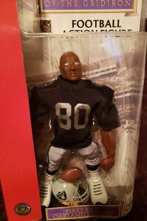 Oakland Raiders- Jerry Rice 80- Gladiators of The Gridiron for Sale in Fresno, CA