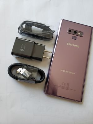 Samsung Galaxy Note 9 , Unlocked for All Company Carrier , Excellent Condition like New for Sale in Springfield, VA