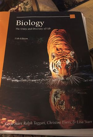 Biology The Unity & Diversity of Life 13th Edition for Sale in Lakeland, FL