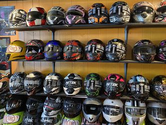 New Dot Motorcycle Helmet S $75 And Up for Sale in Whittier,  CA