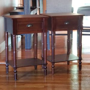 2 SIDE TABLES for Sale in Port Jefferson Station, NY