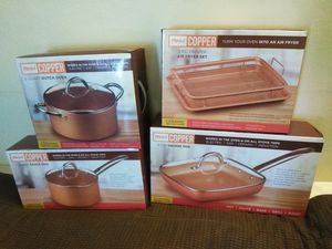 Parini copper cookware set for Sale in Alhambra, CA