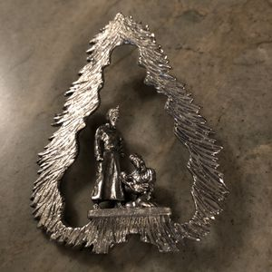 Vintage Metzke Pewter Tree Ornament for Sale in Orange, CA