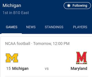 University of Michigan football tickets for Sale in Flushing, MI