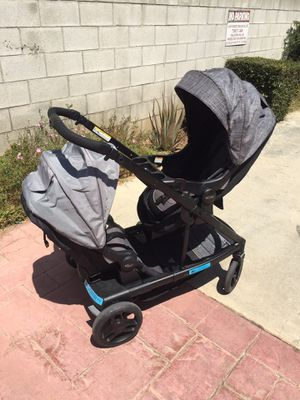 Graco uno2duo double stroller for Sale in Monterey Park, CA