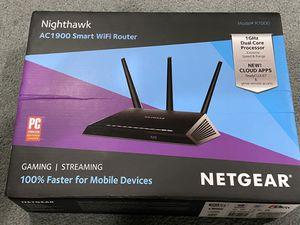 NETGEAR Nighthawk AC1900 Smart Wifi Router for Sale in Philadelphia, PA