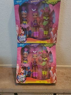 New Cave Club Girls 3 Pack Of Dolls ($20 Value) for Sale in Ripon,  CA