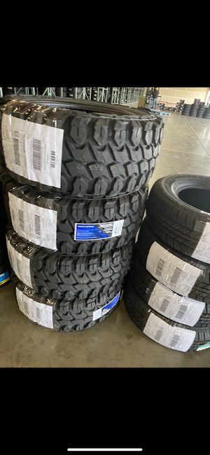LT331250r20 mud tires no credit needed for Sale in Fresno, CA