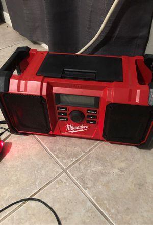Milwaukee radio for Sale in Houston, TX