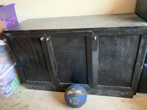 Free! 70's sturdy cabinet! Just needs fresh paint! for Sale in La Mesa, CA