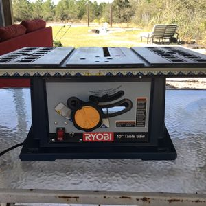 "Ryobi 10"" Table Saw X033971527 for Sale in Frostproof, FL"