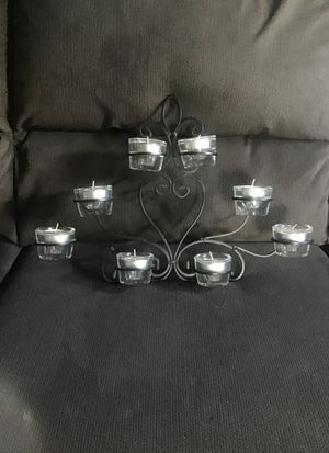 Candelabra/ tea-light candle wall sconce for Sale in Riverside, CA