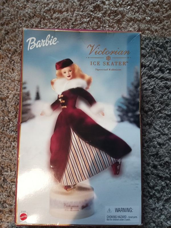 VICTORIAN ICE SKATER BARBIE
